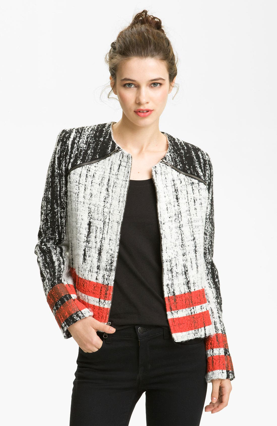 Main Image - Parker Pop Art Graphic Jacket