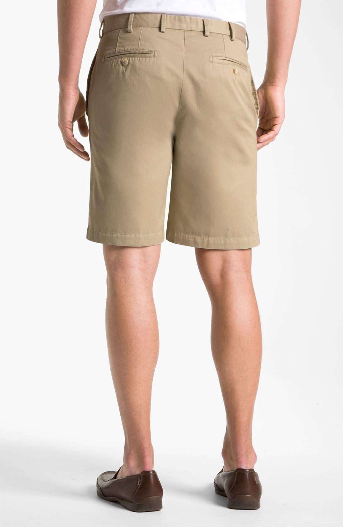 Alternate Image 2  - Peter Millar Washed Twill Shorts