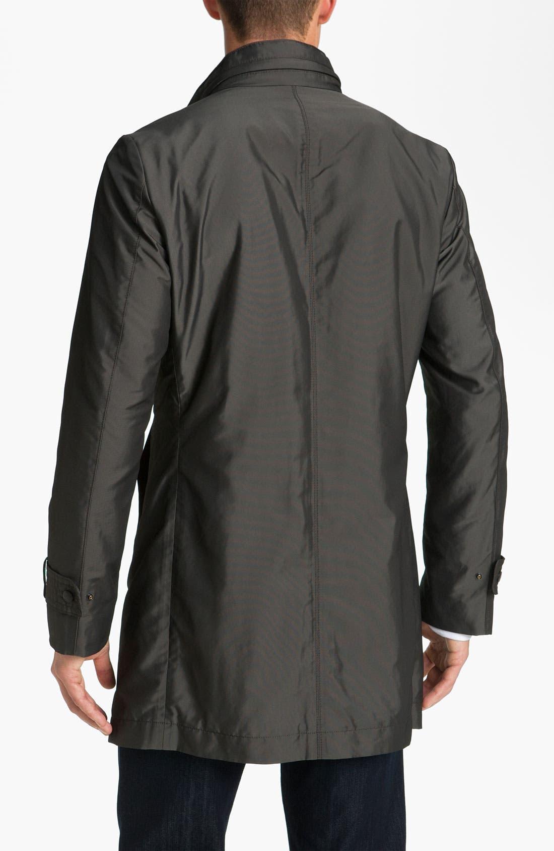 Alternate Image 2  - BOSS Black 'The Pander' Trim Fit Raincoat