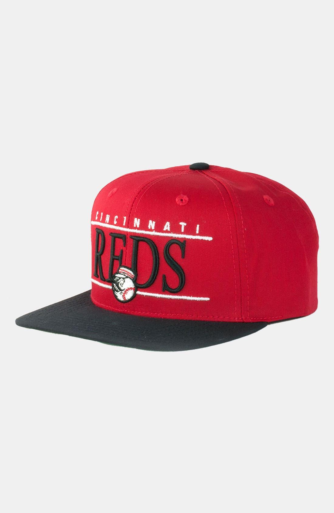 Main Image - American Needle 'Cincinnati Reds - Nineties' Twill Snapback Baseball Cap