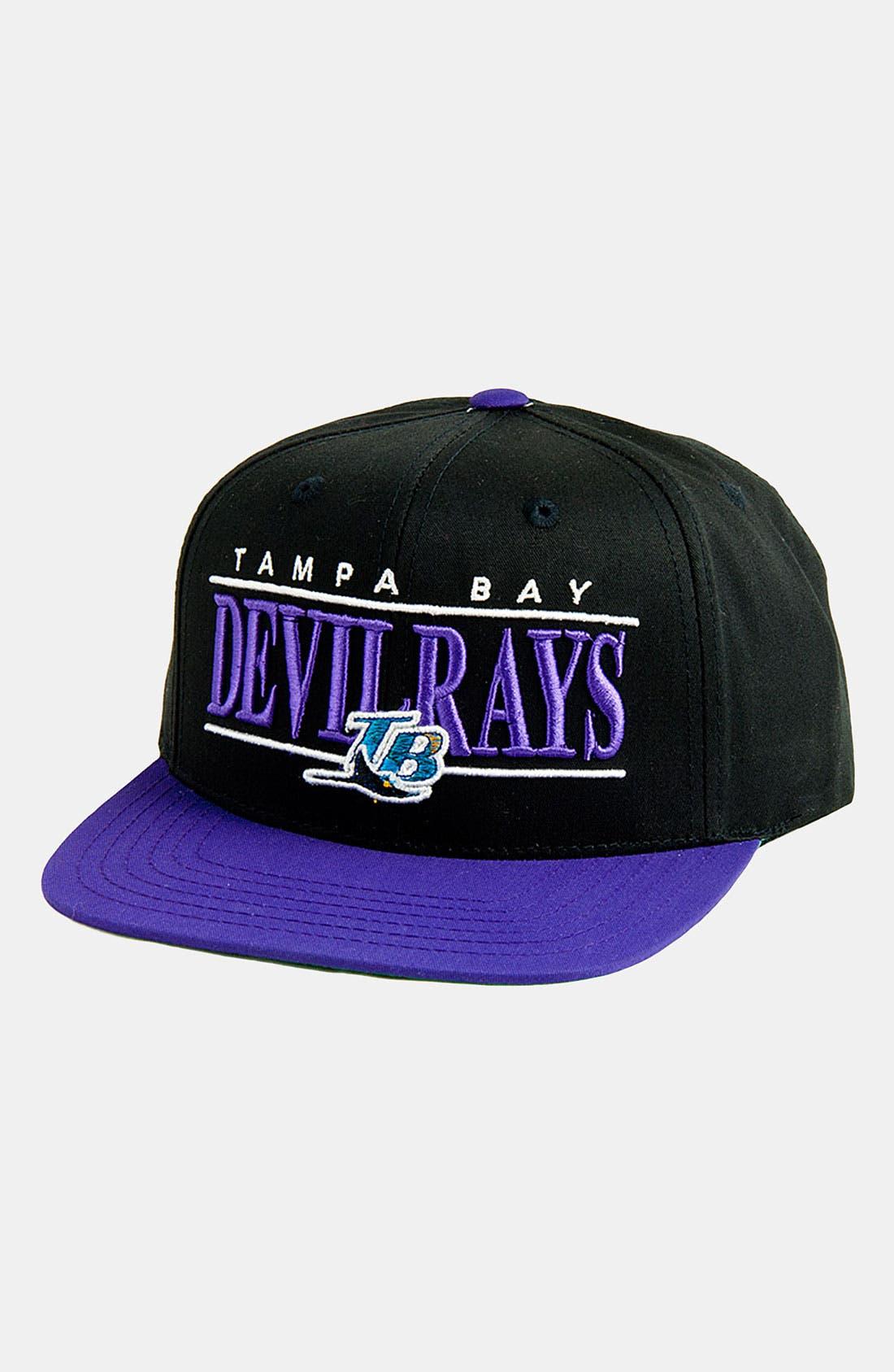 Main Image - American Needle 'Tampa Ray Devil Rays - Nineties' Twill Snapback Baseball Cap
