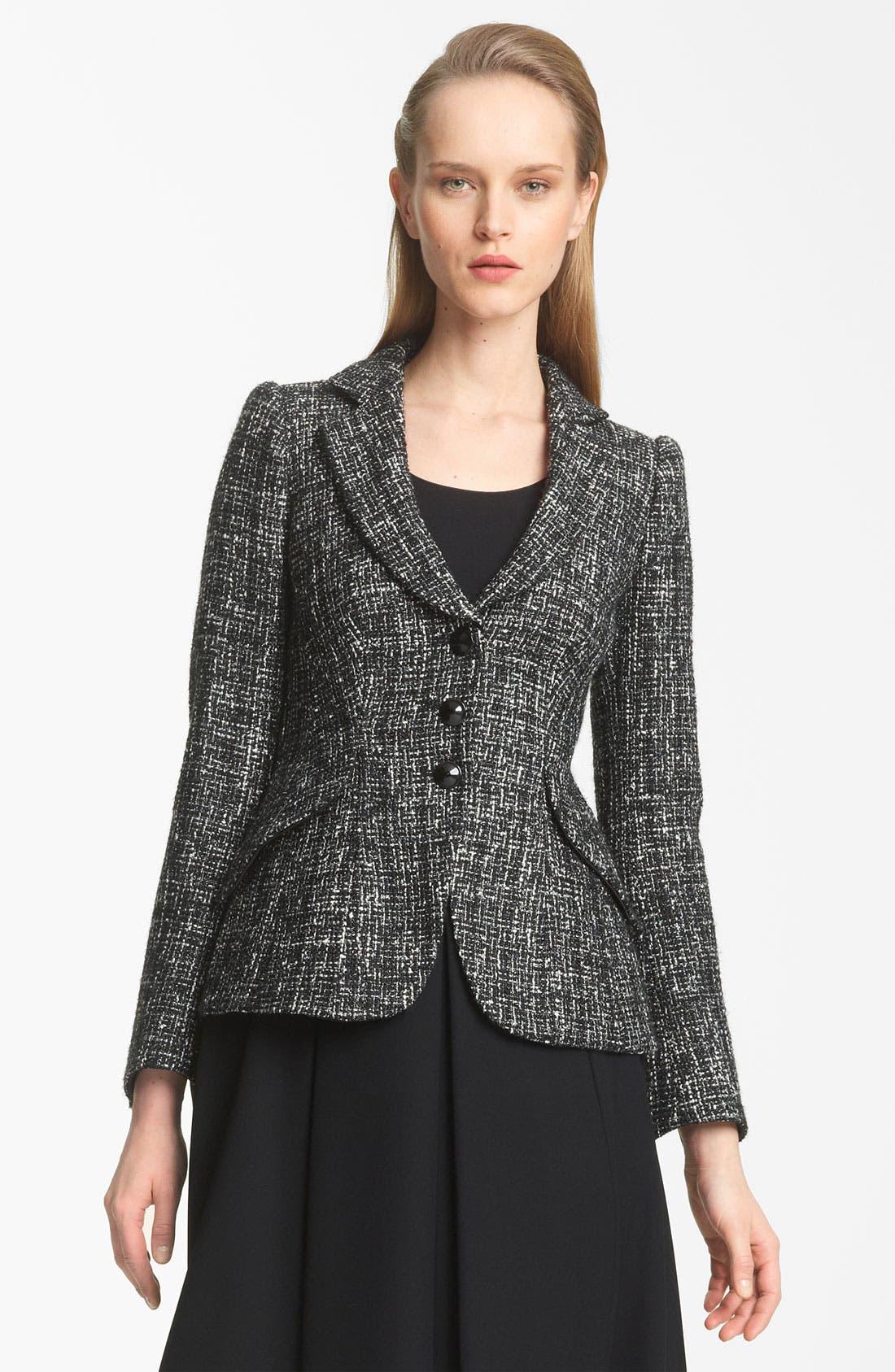 Alternate Image 1 Selected - Armani Collezioni Tweed Jacket