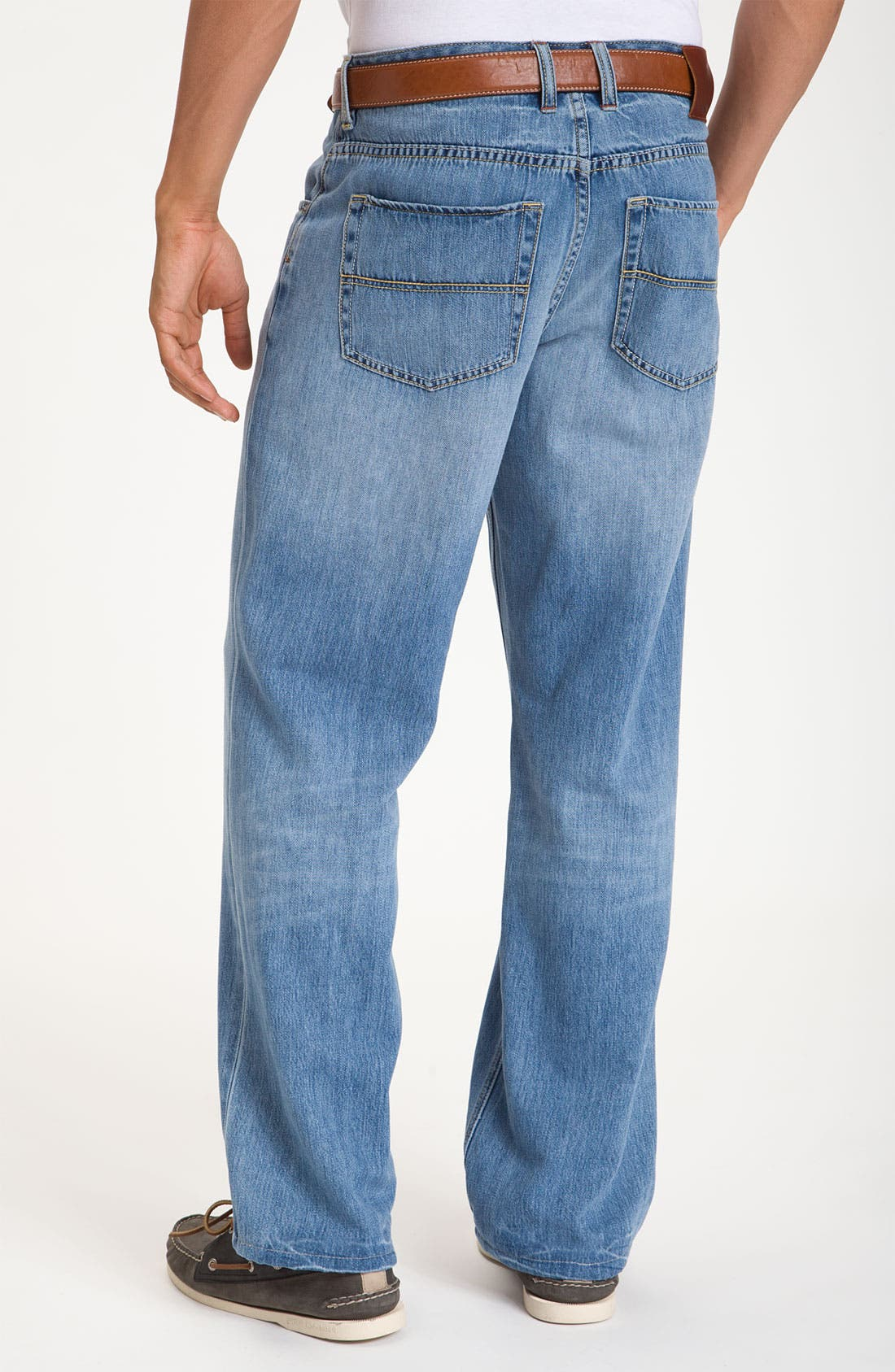 Alternate Image 2  - Tommy Bahama Denim 'Island Ease' Straight Leg Jeans (Vintage Light)