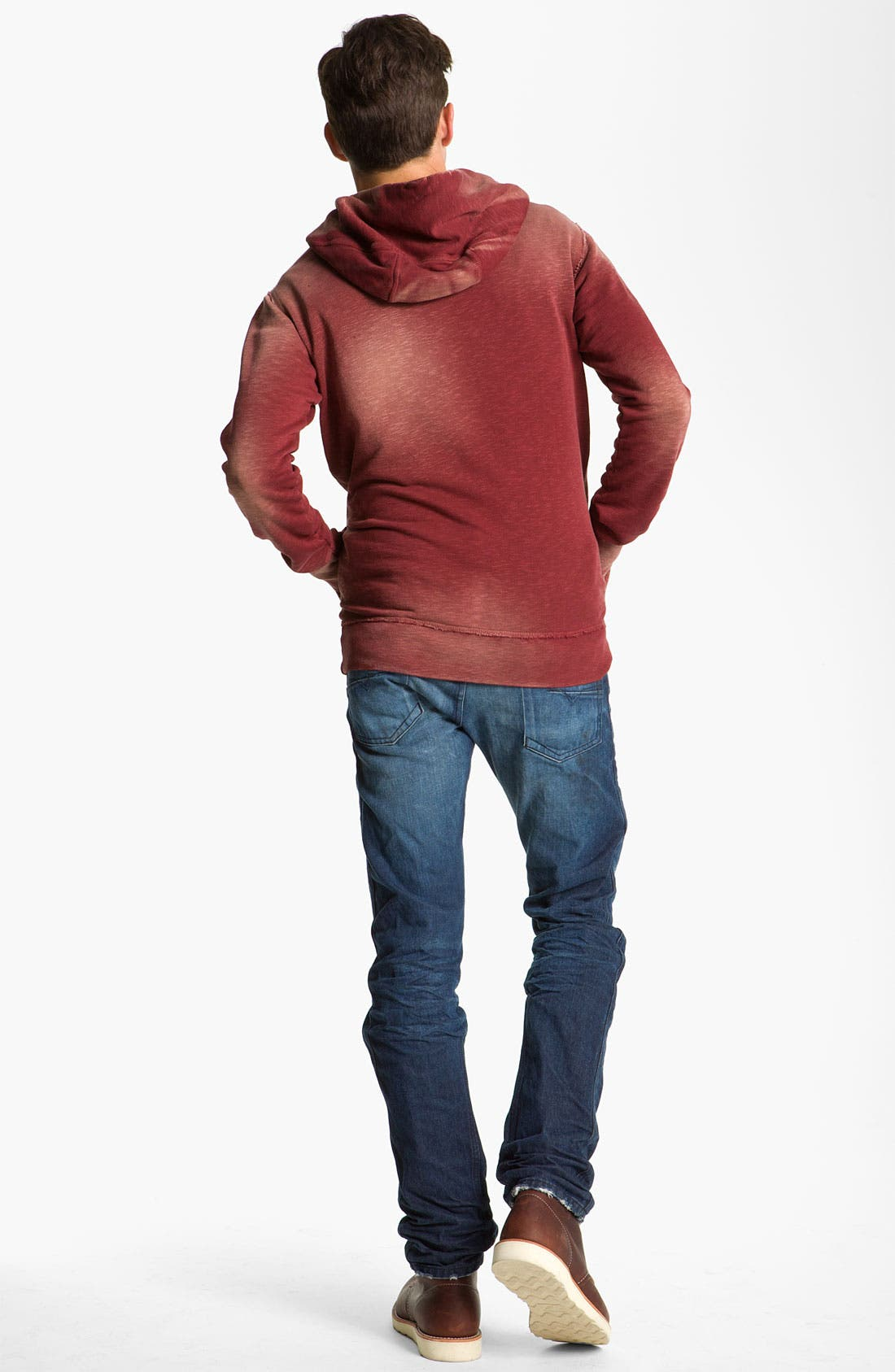Alternate Image 6  - DIESEL® 'Darron' Slim Tapered Leg Jeans (0803W)