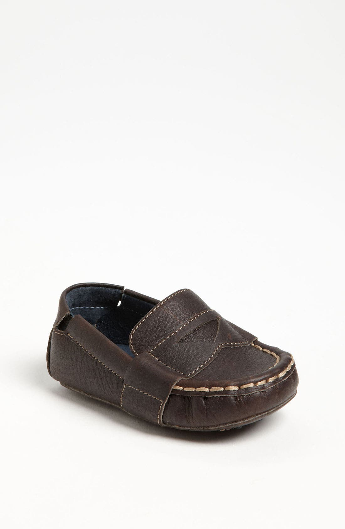 Alternate Image 1 Selected - Cole Haan 'Mini Penny Loafer' Leather Slip-On (Baby)