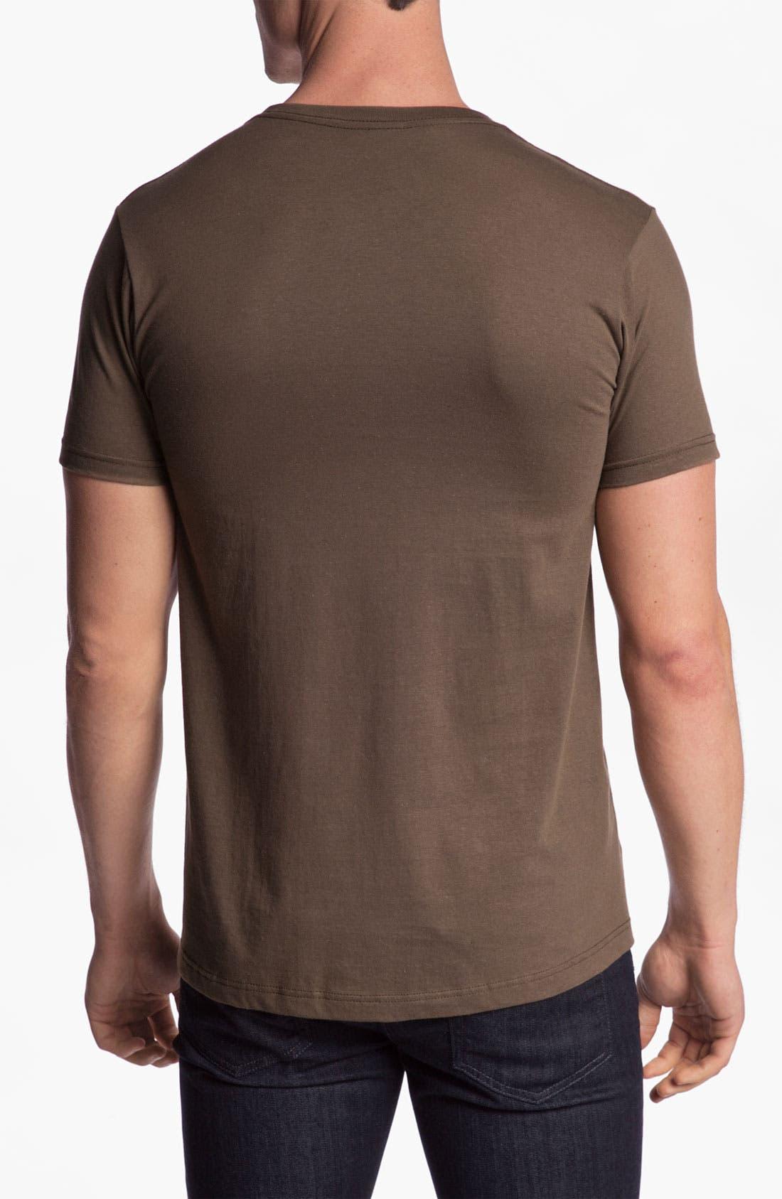 Alternate Image 2  - RVCA 'Oiler' Graphic T-Shirt