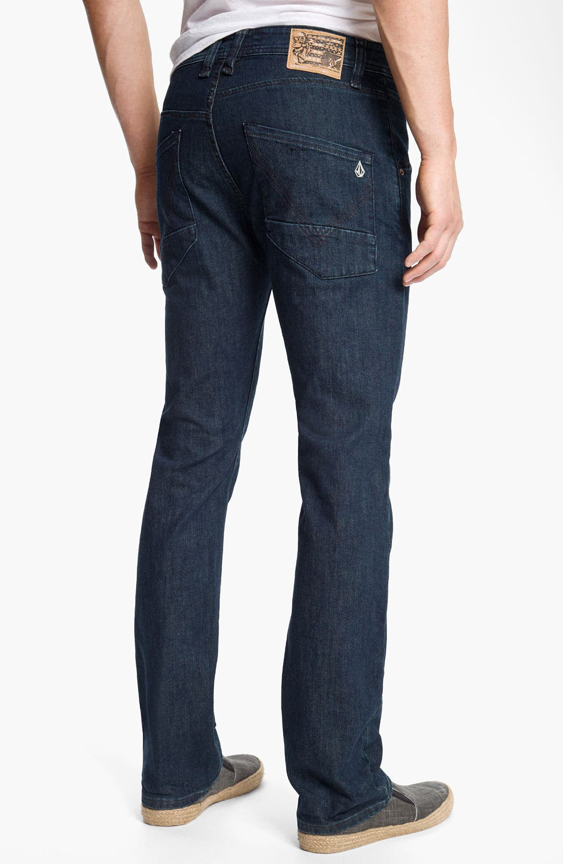 Alternate Image 1 Selected - Volcom 'Nova' Slim Straight Leg Jeans (Los Tintos) (Online Only)
