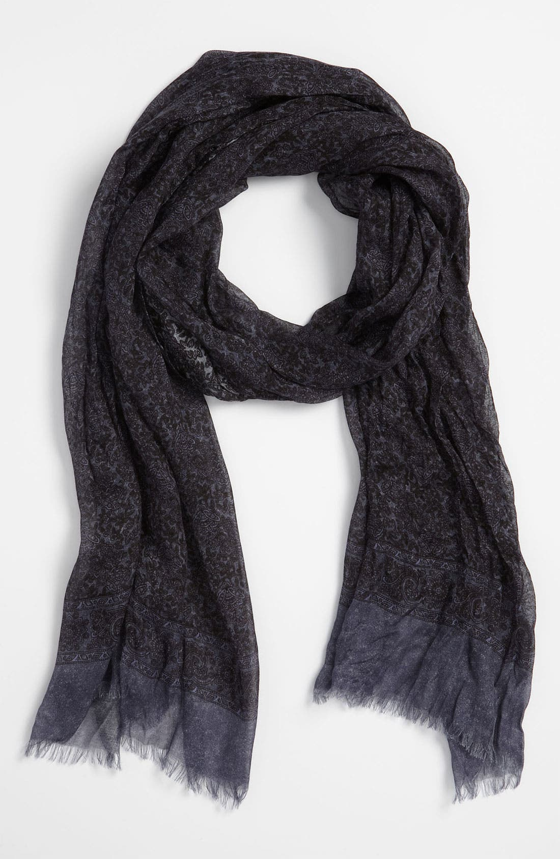 Alternate Image 1 Selected - John Varvatos Collection Pattern Print Scarf