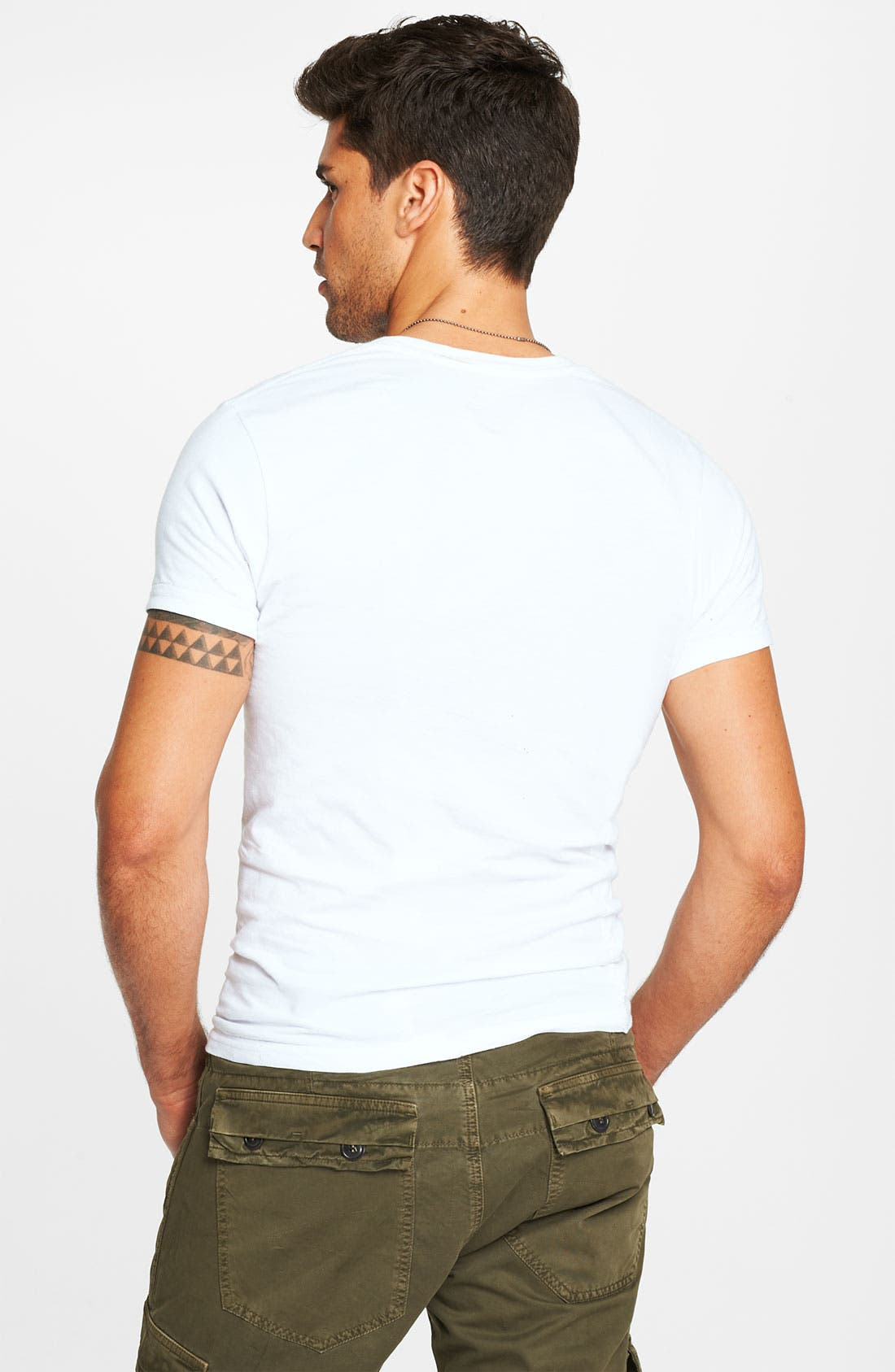 Alternate Image 2  - Calvin Klein 'U9001' Cotton Crewneck T-Shirt (3-Pack)
