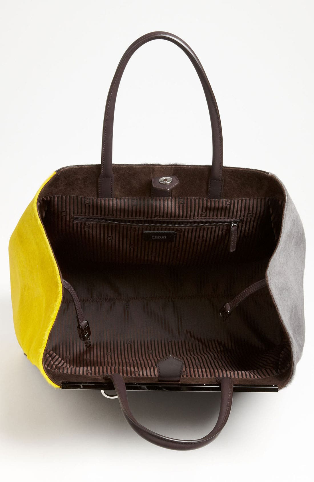 Alternate Image 3  - Fendi '2Jours - Large' Calf Hair Shopper