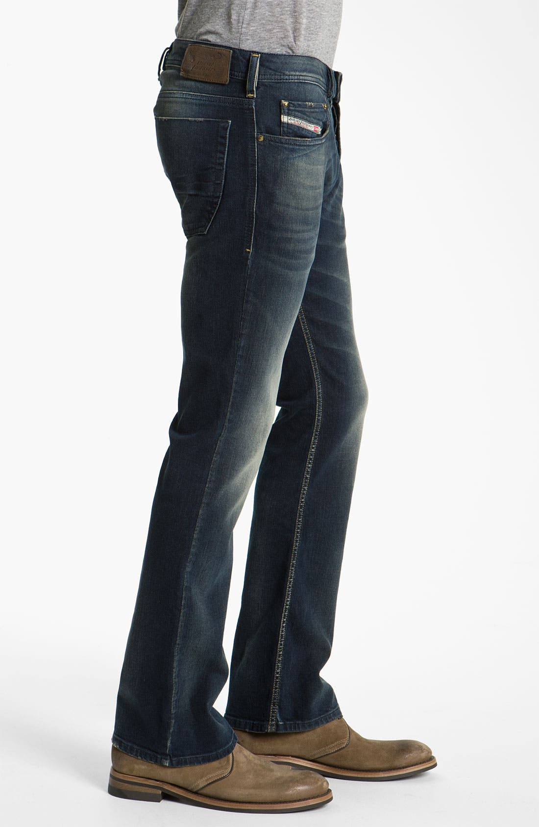 Alternate Image 3  - DIESEL® 'Zatiny' Bootcut Jeans (802C)
