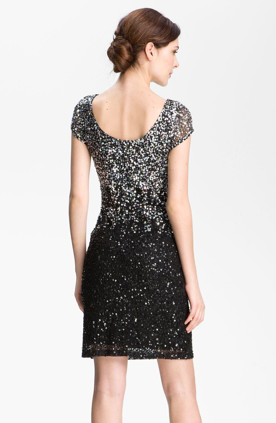 Alternate Image 2  - JS Boutique Scoop Neck Embellished Sheath Dress