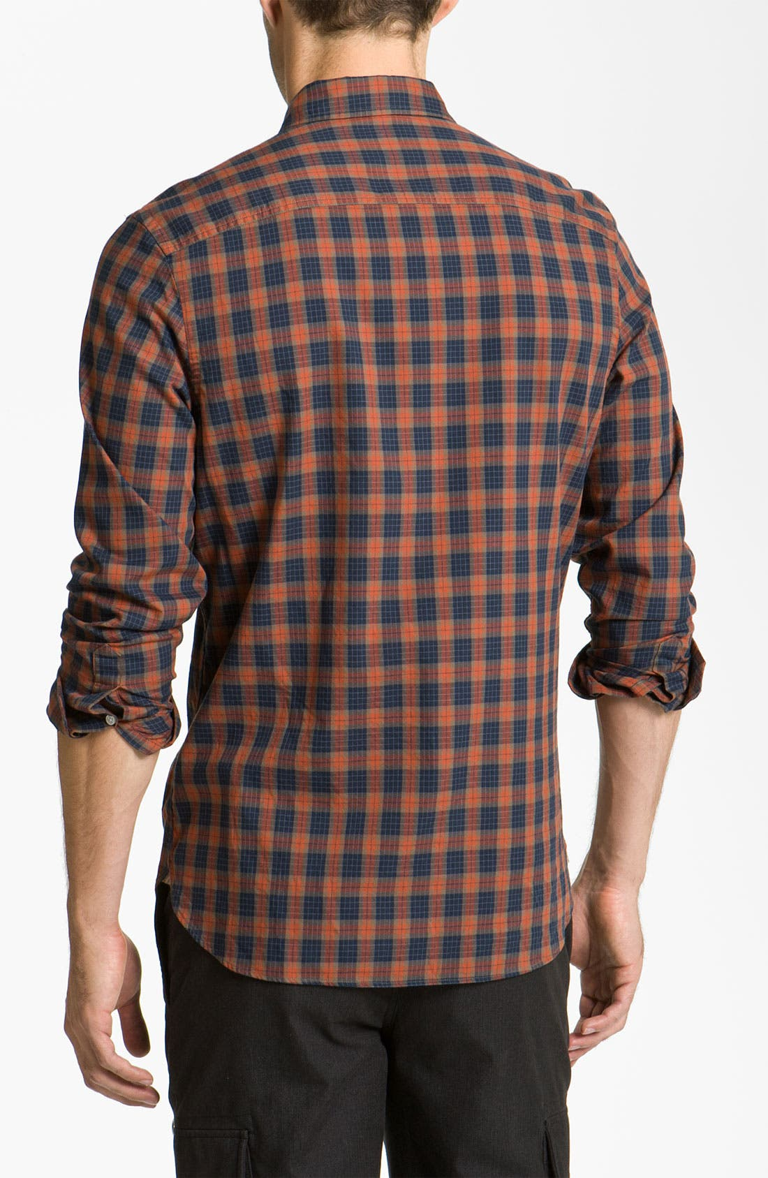 Alternate Image 2  - Wallin & Bros. Plaid Sport Shirt