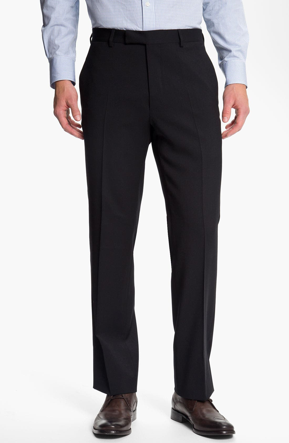 Alternate Image 1 Selected - John Varvatos Star USA Red Label 'Petro' Wool Trousers