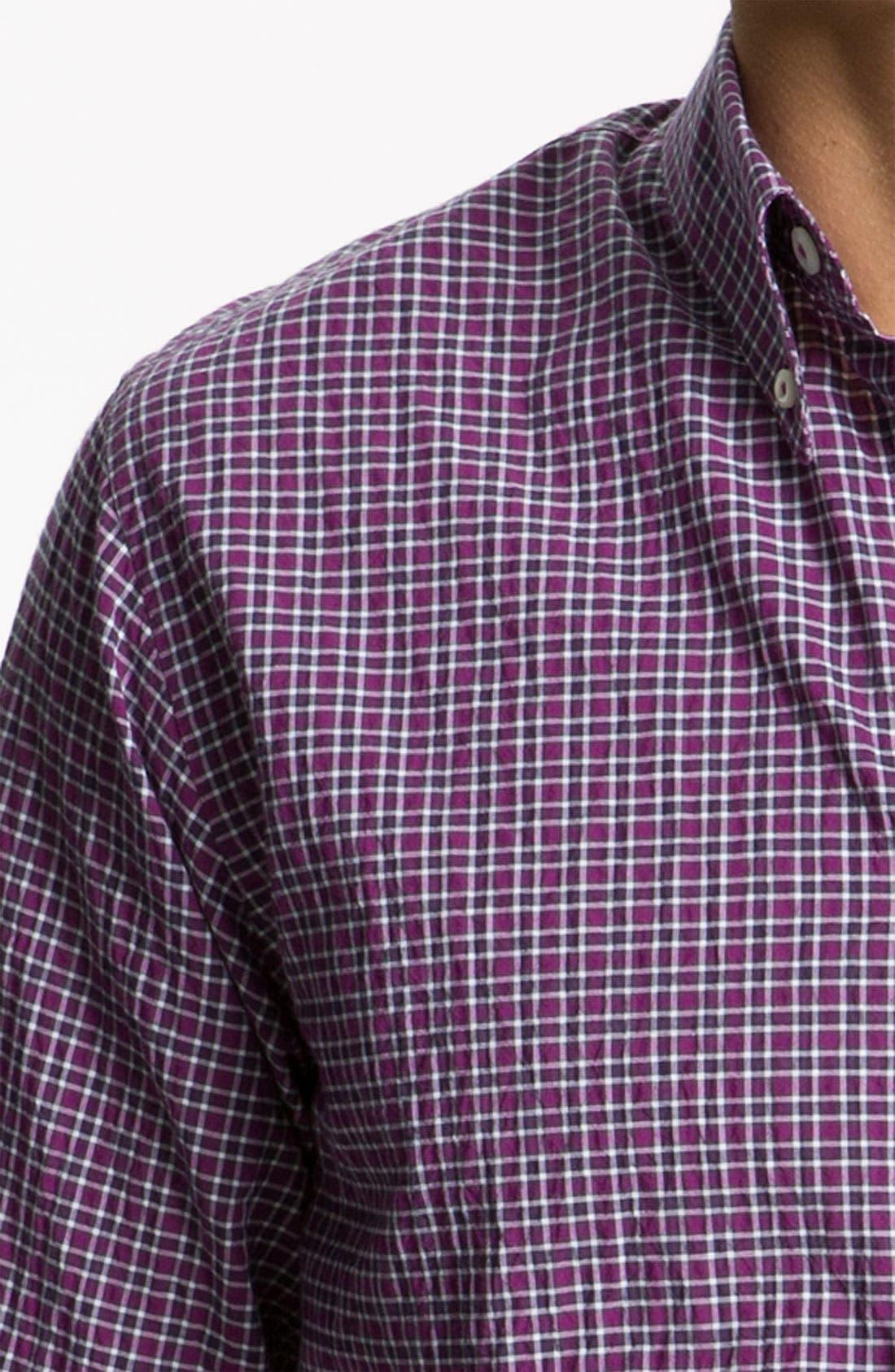 Alternate Image 3  - Billy Reid 'Tuscumbia' Plaid Woven Shirt