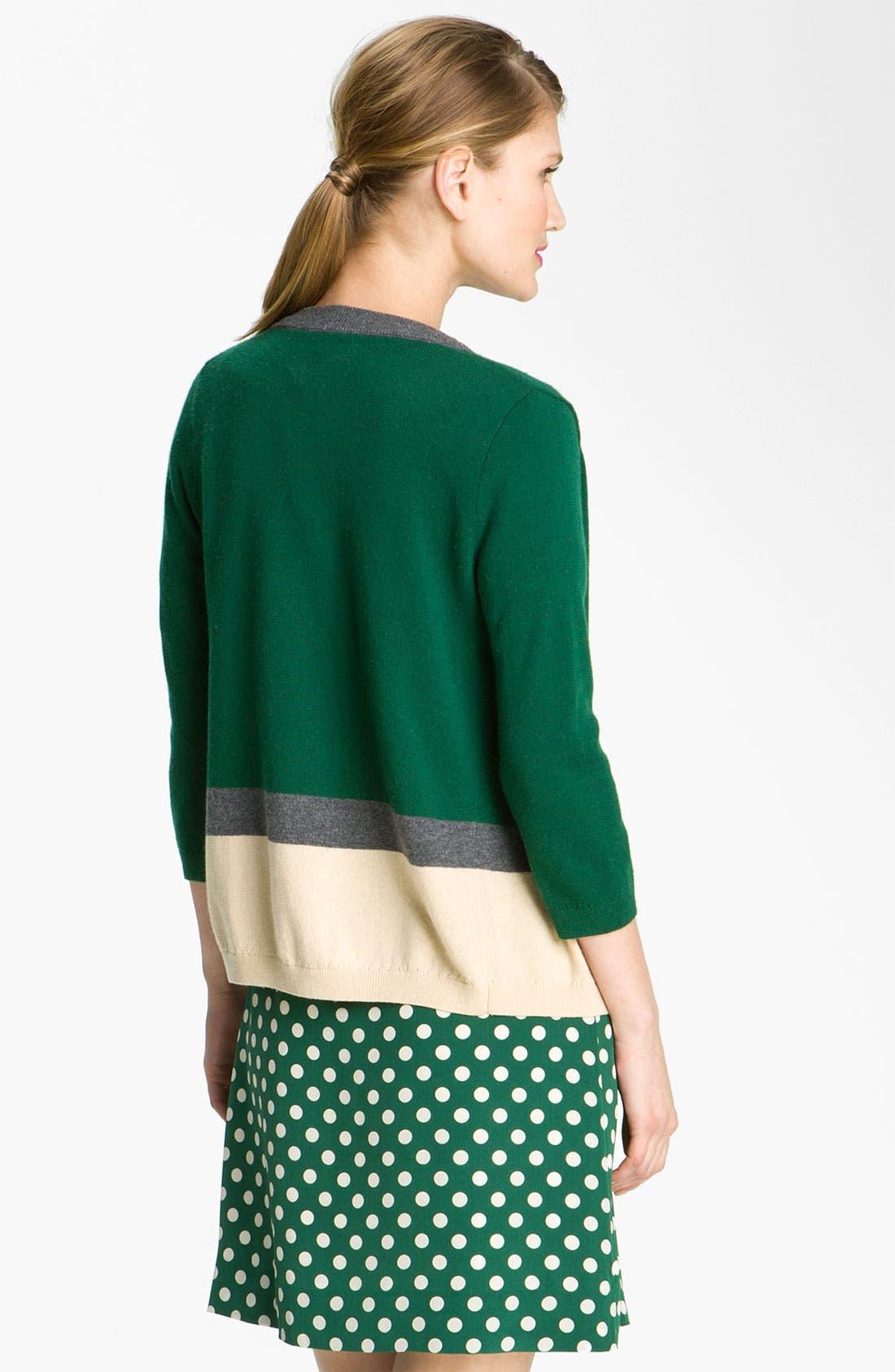 Alternate Image 2  - kate spade new york 'thandie' merino wool cardigan