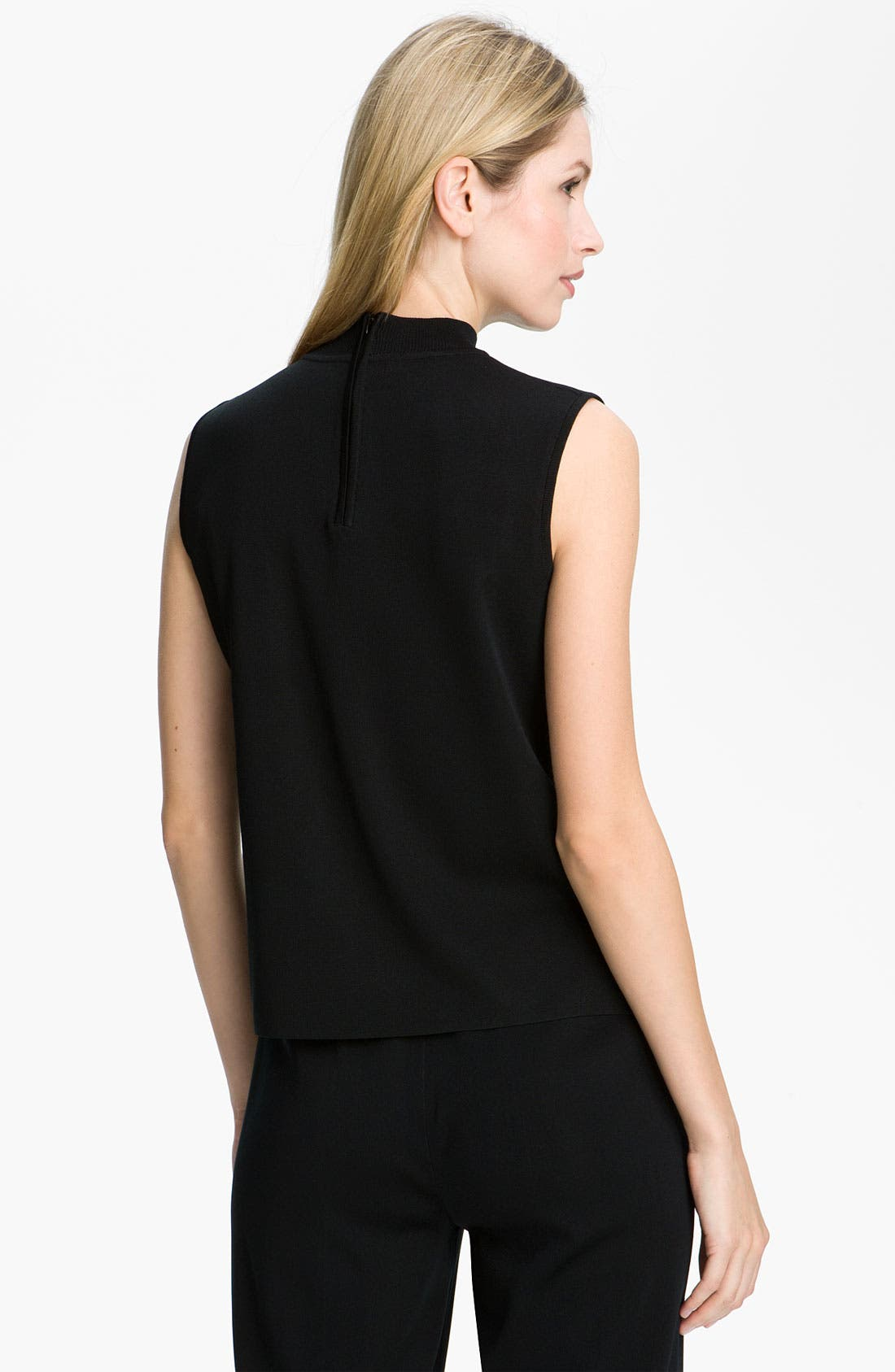 Alternate Image 2  - Ming Wang Mock Neck Shell