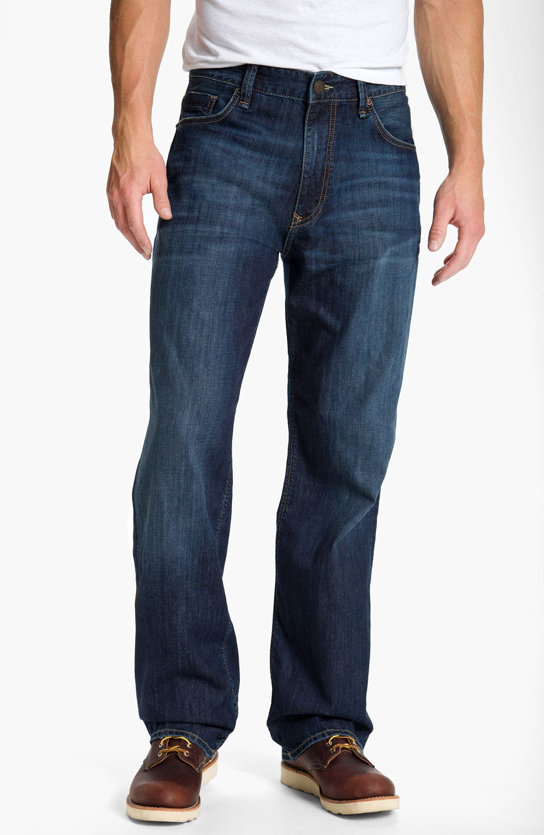 Alternate Image 2  - Mavi Jeans 'Max' Relaxed Fit Jeans (Dark Spring)