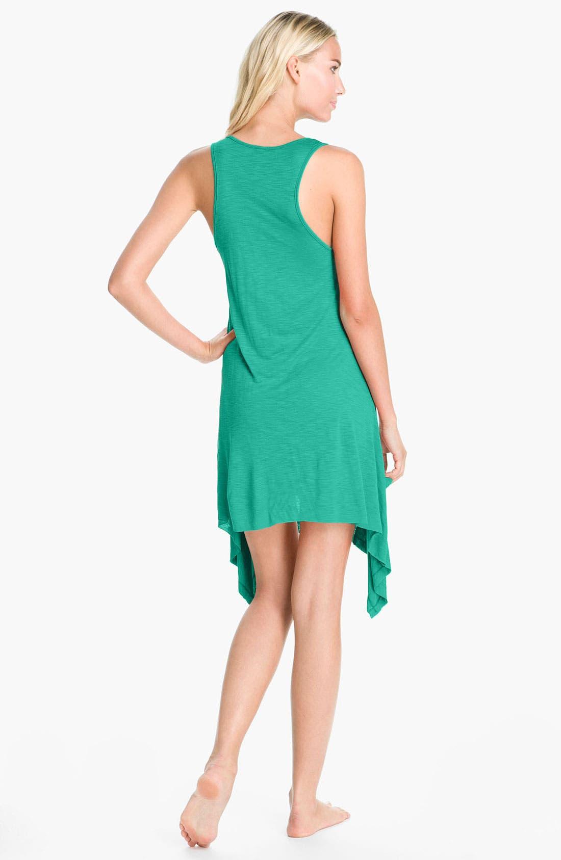 Alternate Image 2  - Elan 'Handkerchief' Cover-Up Dress