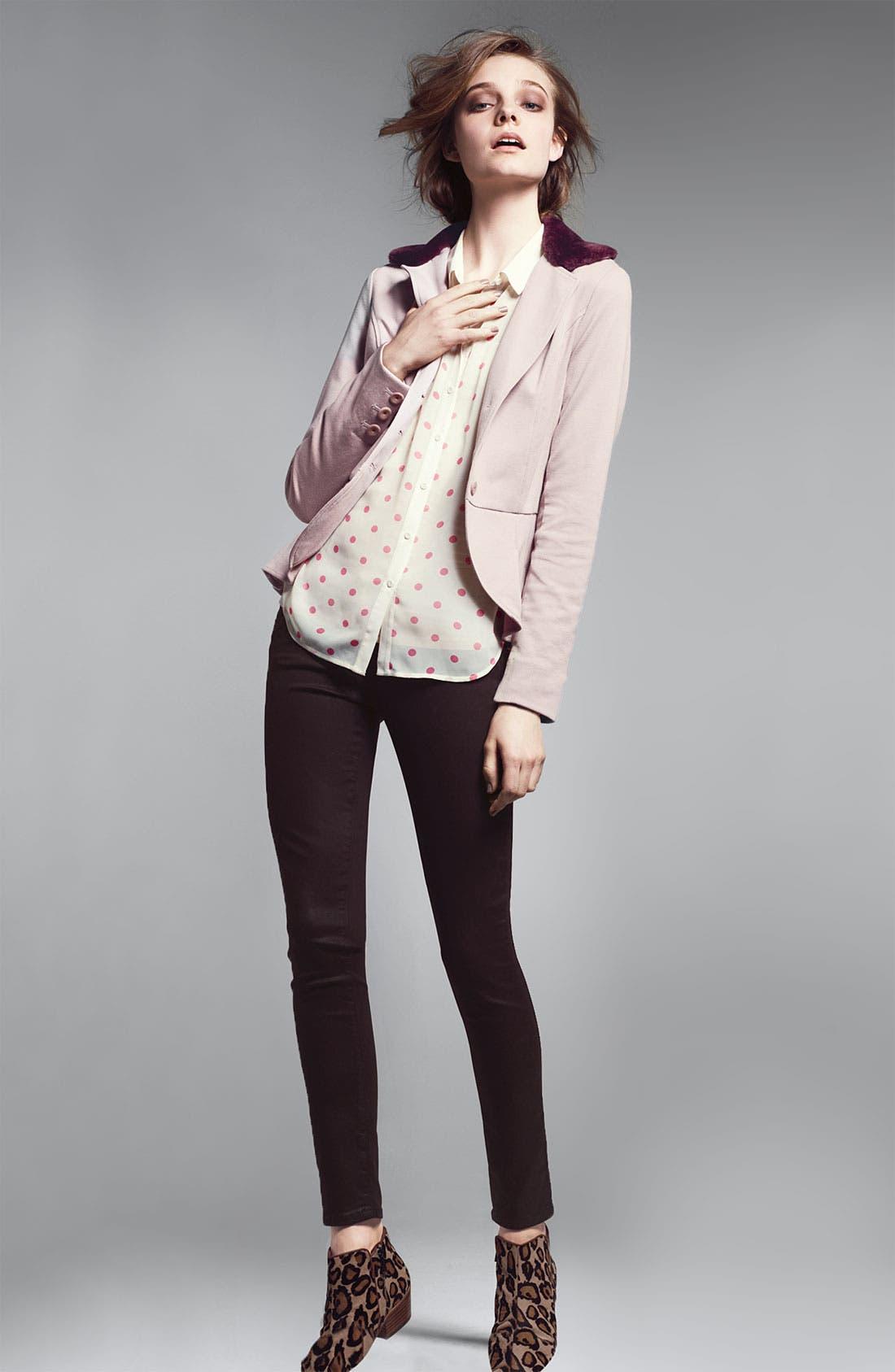 Alternate Image 4  - Paige Denim 'Verdugo' Coated Skinny Jeans (Java)