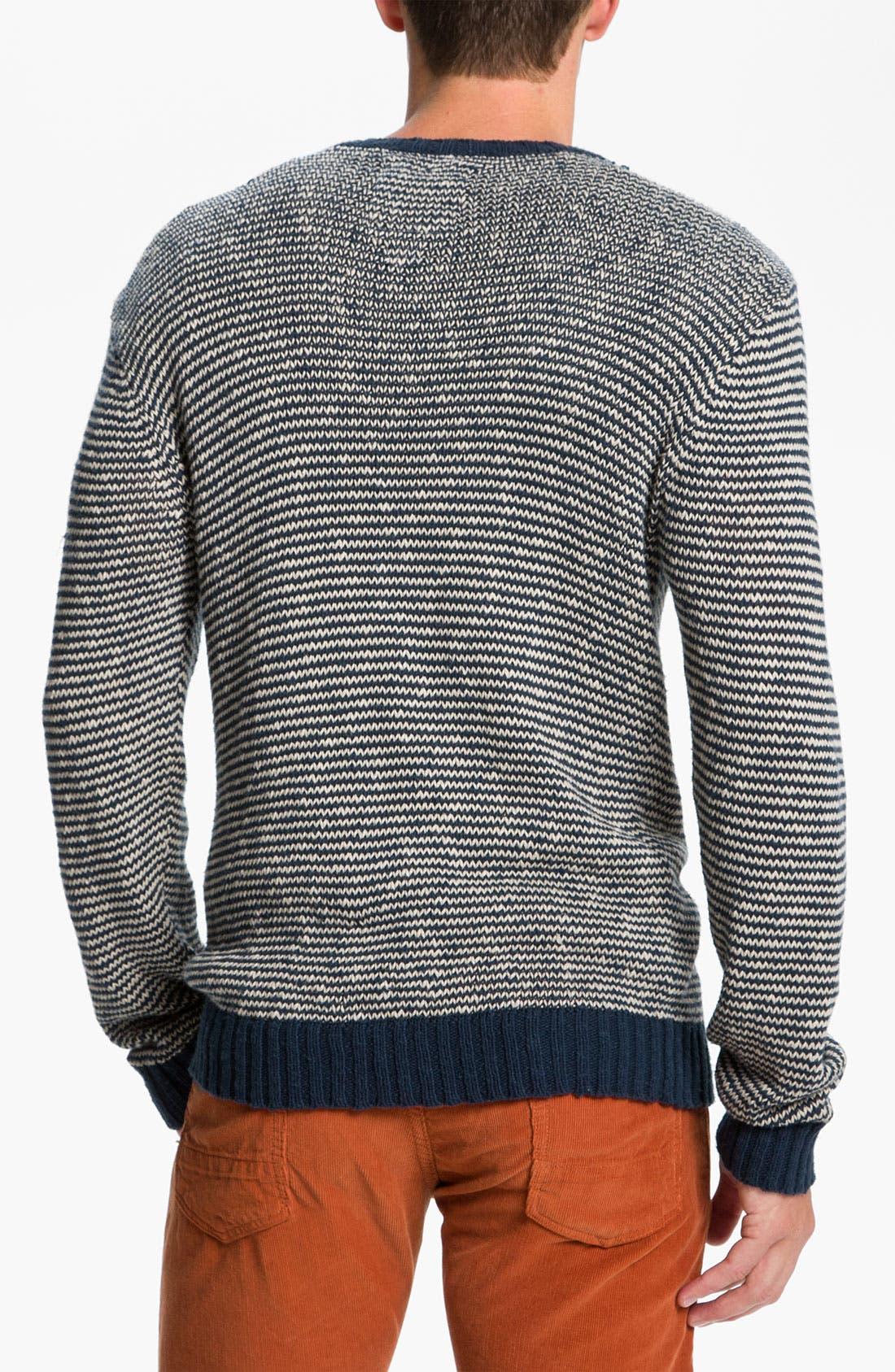 Alternate Image 2  - VSTR 'Saltie' Stripe Crewneck Sweater