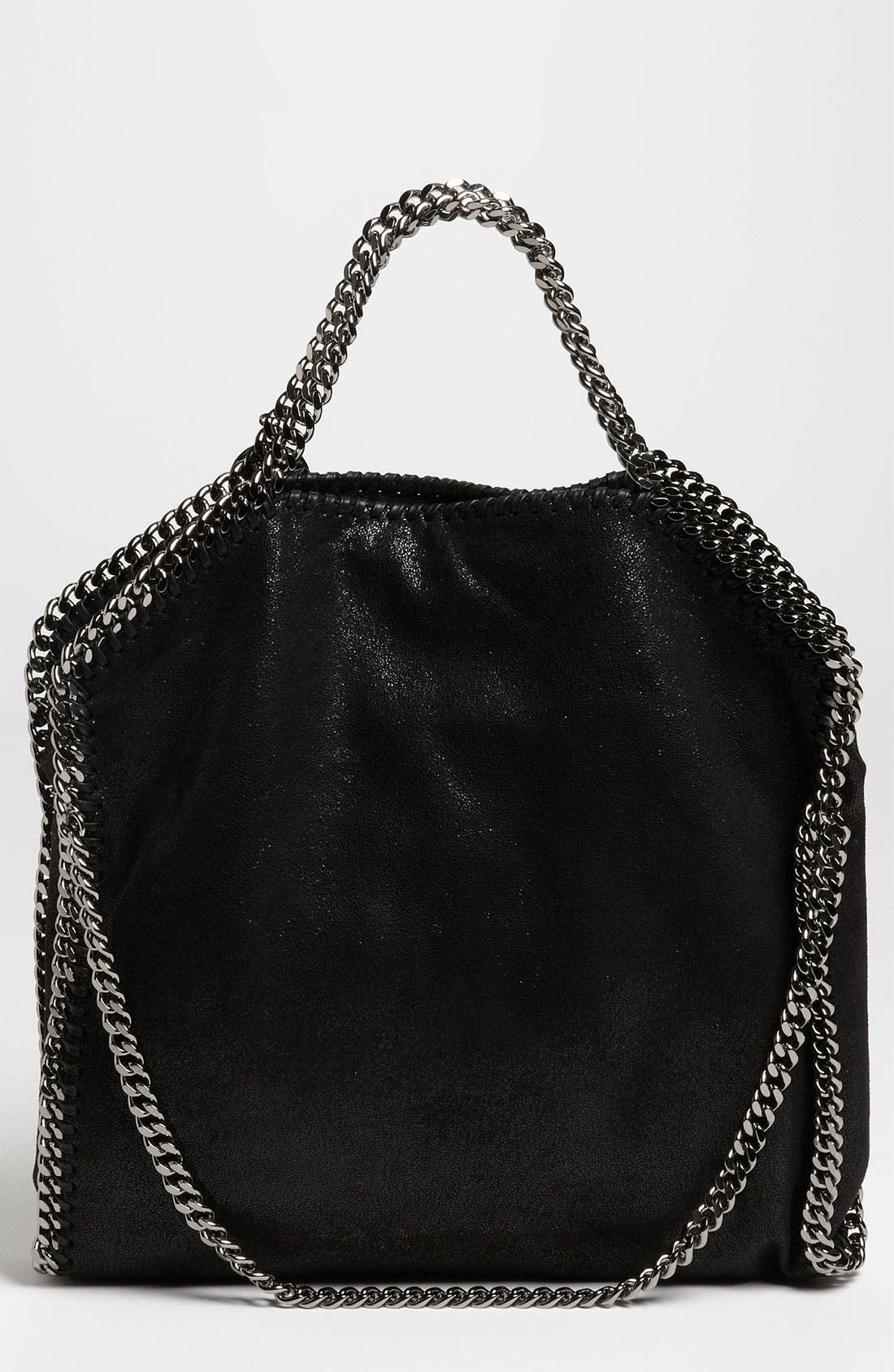Stella McCartney Shoulder Bag for Women On Sale, Black, Eco Suede, 2017, one size