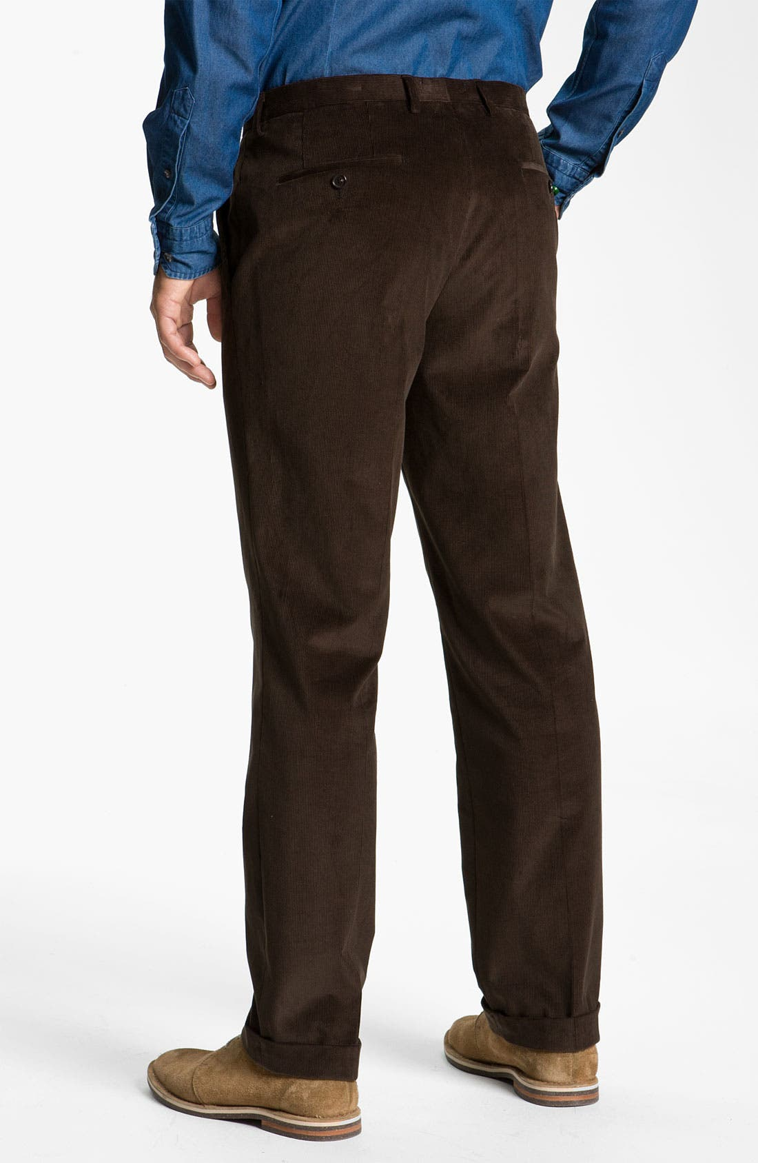 Alternate Image 5  - BOSS Black 'James/Sharp' Trim Fit Corduroy Suit