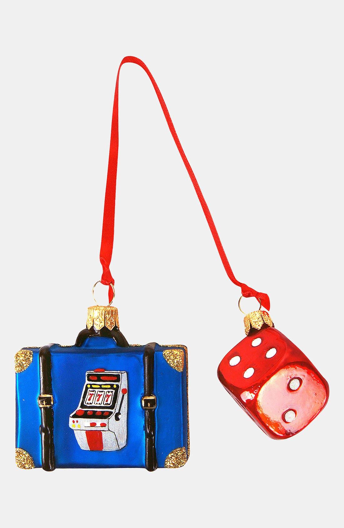 Main Image - Nordstrom at Home 'Las Vegas Mini Set' Glass Ornament