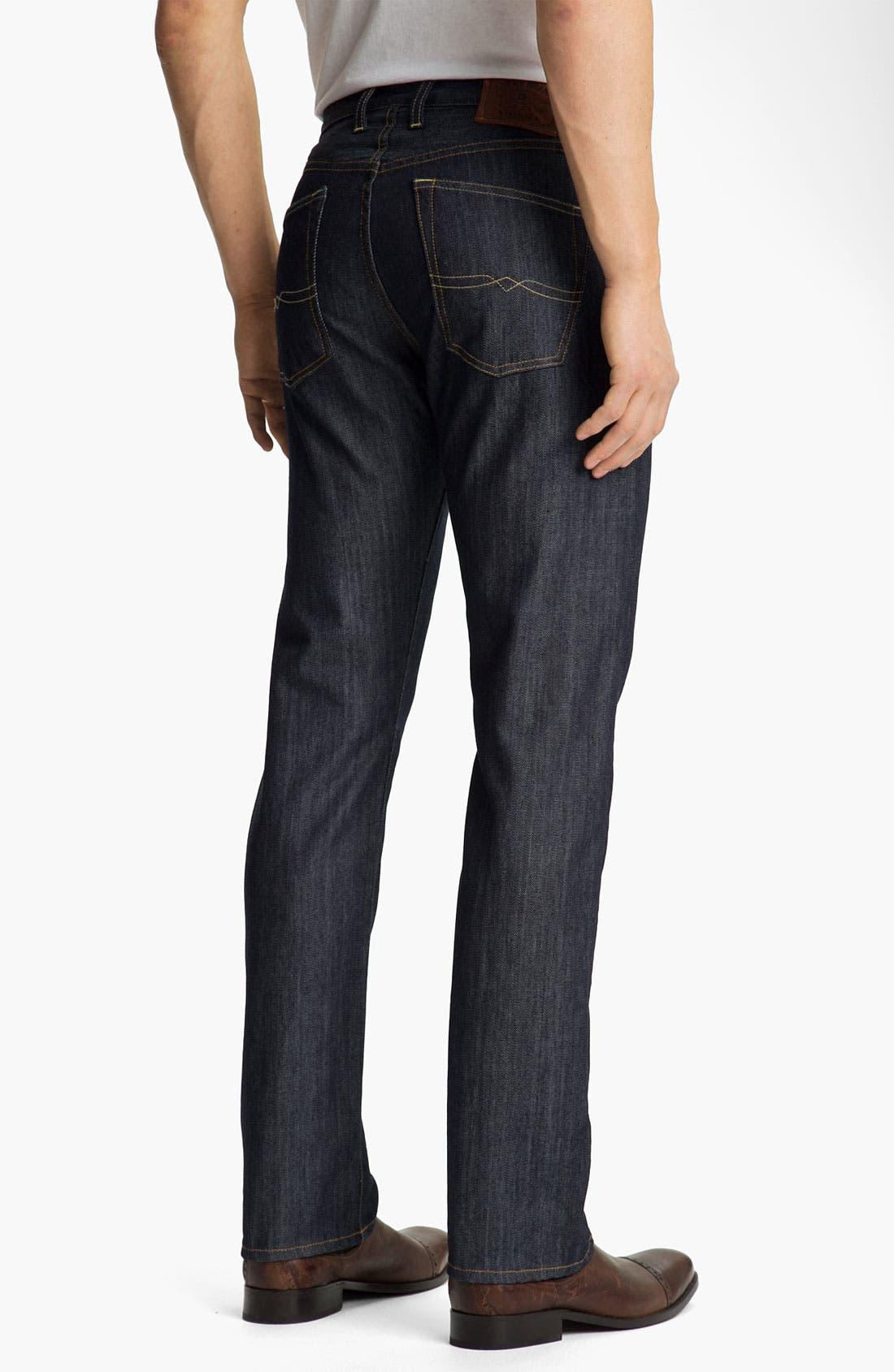 Alternate Image 2  - Lucky Brand '123 Heritage' Slim Straight Leg Jeans (Kino)