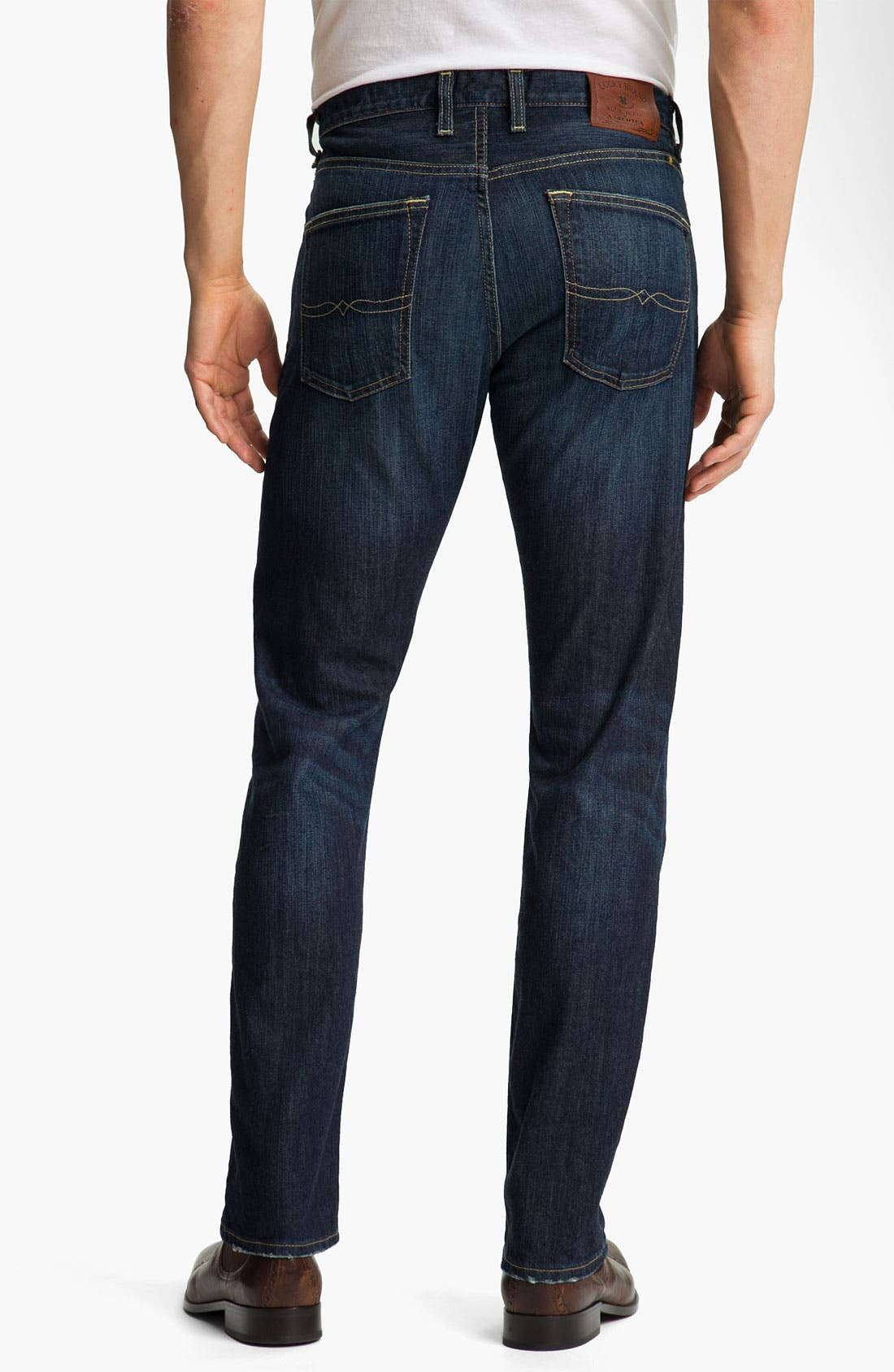 Alternate Image 2  - Lucky Brand '123 Heritage' Slim Straight Leg Jeans (Ol' Occidental)