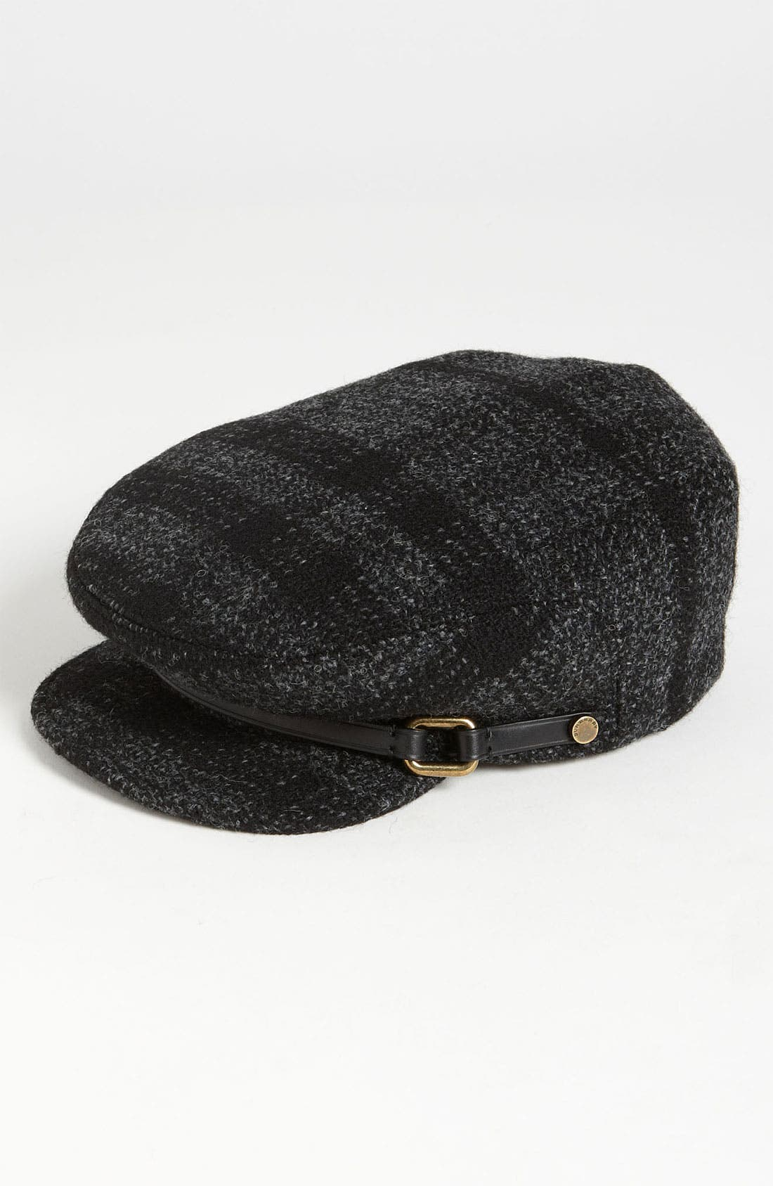 Alternate Image 1 Selected - Burberry Smoked Check Wool Flat Cap