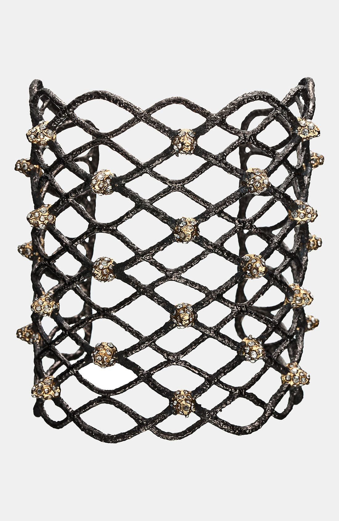 Alternate Image 1 Selected - Alexis Bittar 'Elements - Siyabona' Wide Spiked Woven Cuff