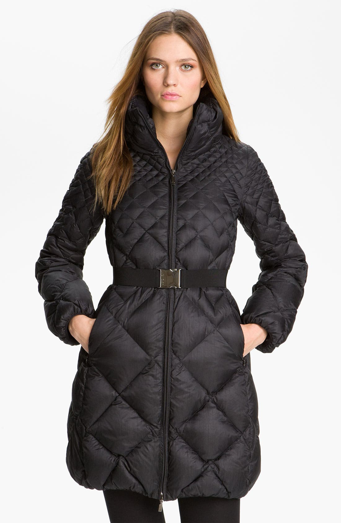 Main Image - Moncler 'Bourdon' Quilted Down Jacket