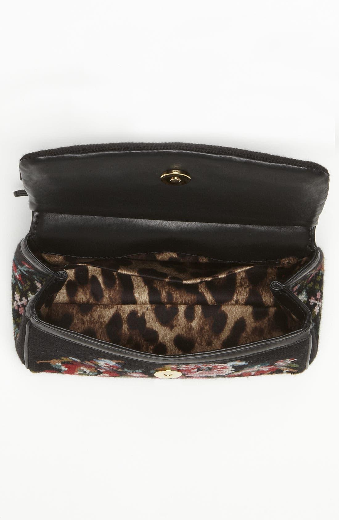 Alternate Image 3  - Dolce&Gabbana 'Miss Sicily - Mini' Needlepoint Handbag