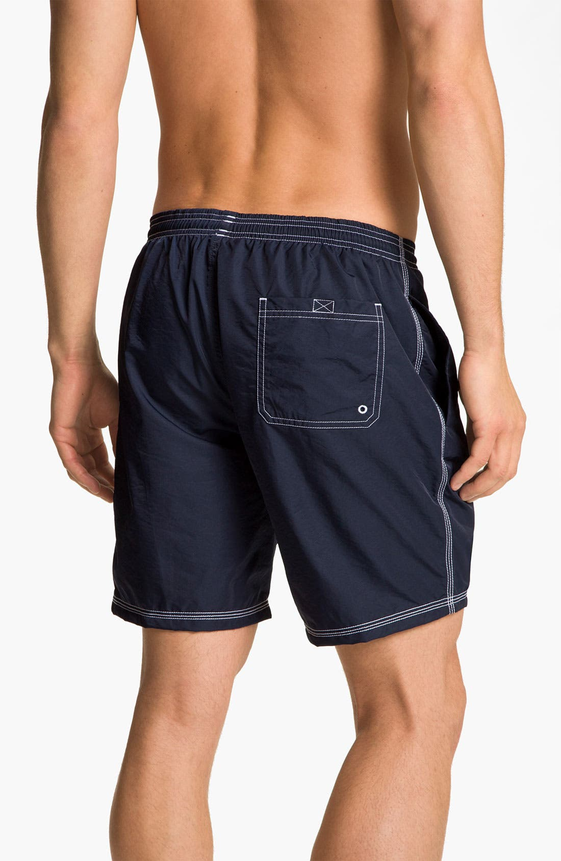HUGO BOSS 'Killifish' Volley Swim Shorts,                             Alternate thumbnail 2, color,                             New Navy