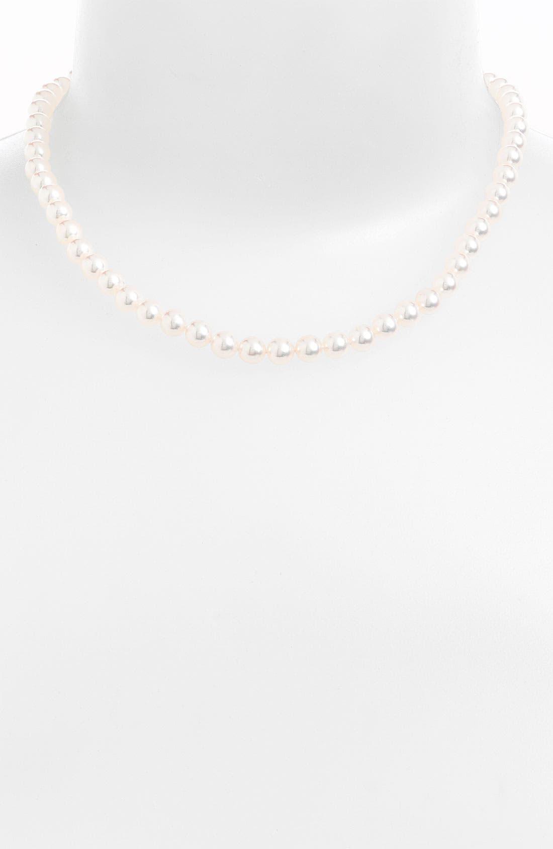 Alternate Image 1 Selected - Mikimoto Akoya Pearl Choker Necklace