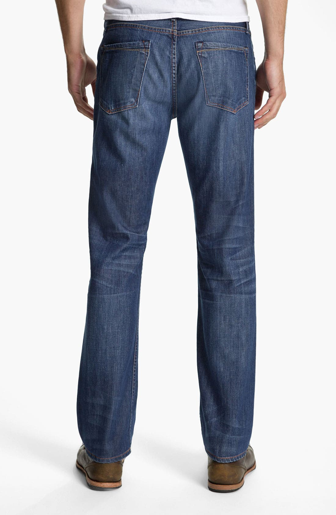 Alternate Image 2  - Earnest Sewn 'Dexter' Relaxed Leg Jeans (Burton)