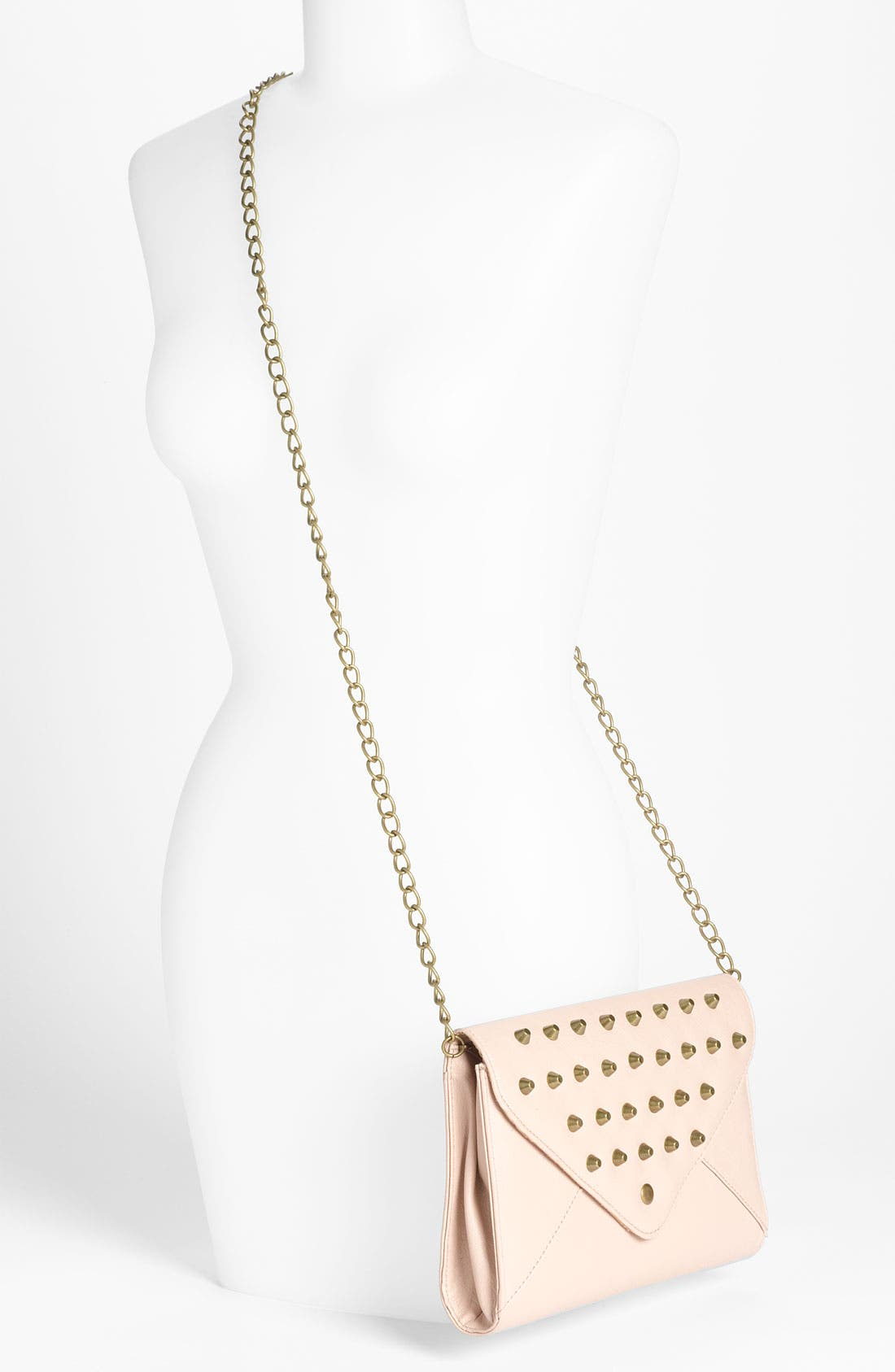 Alternate Image 2  - OMG Studded Crossbody Clutch