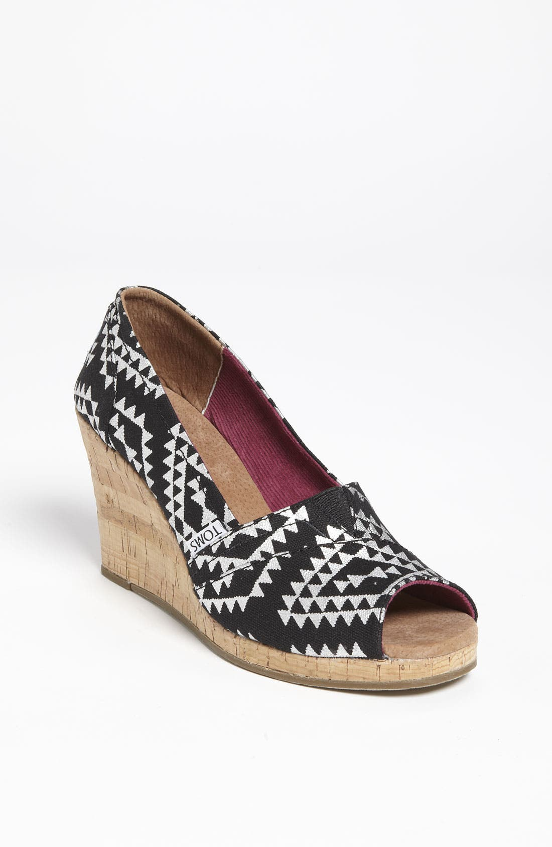 Alternate Image 1 Selected - TOMS 'Reina' Wedge (Women)