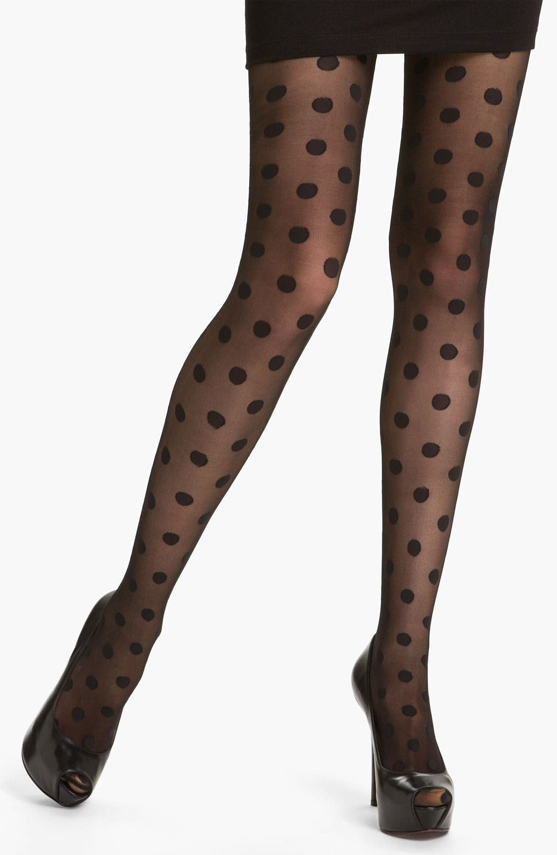 Main Image - Hue Polka Dot Tights