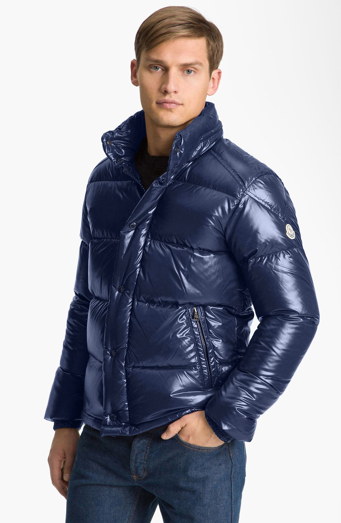 Alternate Image 1 Selected - Moncler 'Ever' Quilted Puffer Jacket