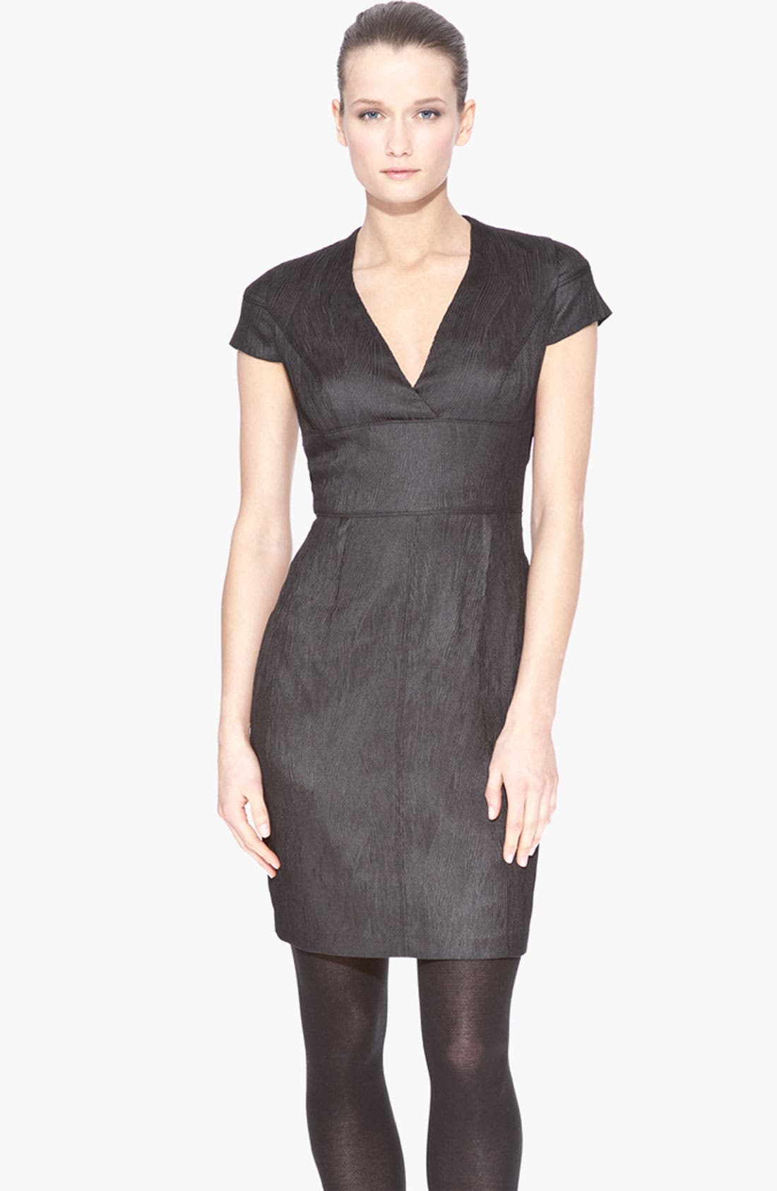 Alternate Image 1 Selected - Marc New York by Andrew Marc Empire Waist Seamed Sheath Dress