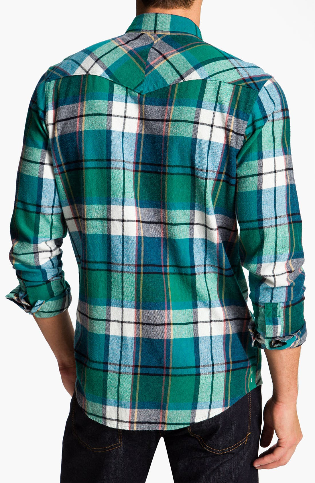 Alternate Image 2  - The Rail by Public Opinion Cotton Flannel Shirt