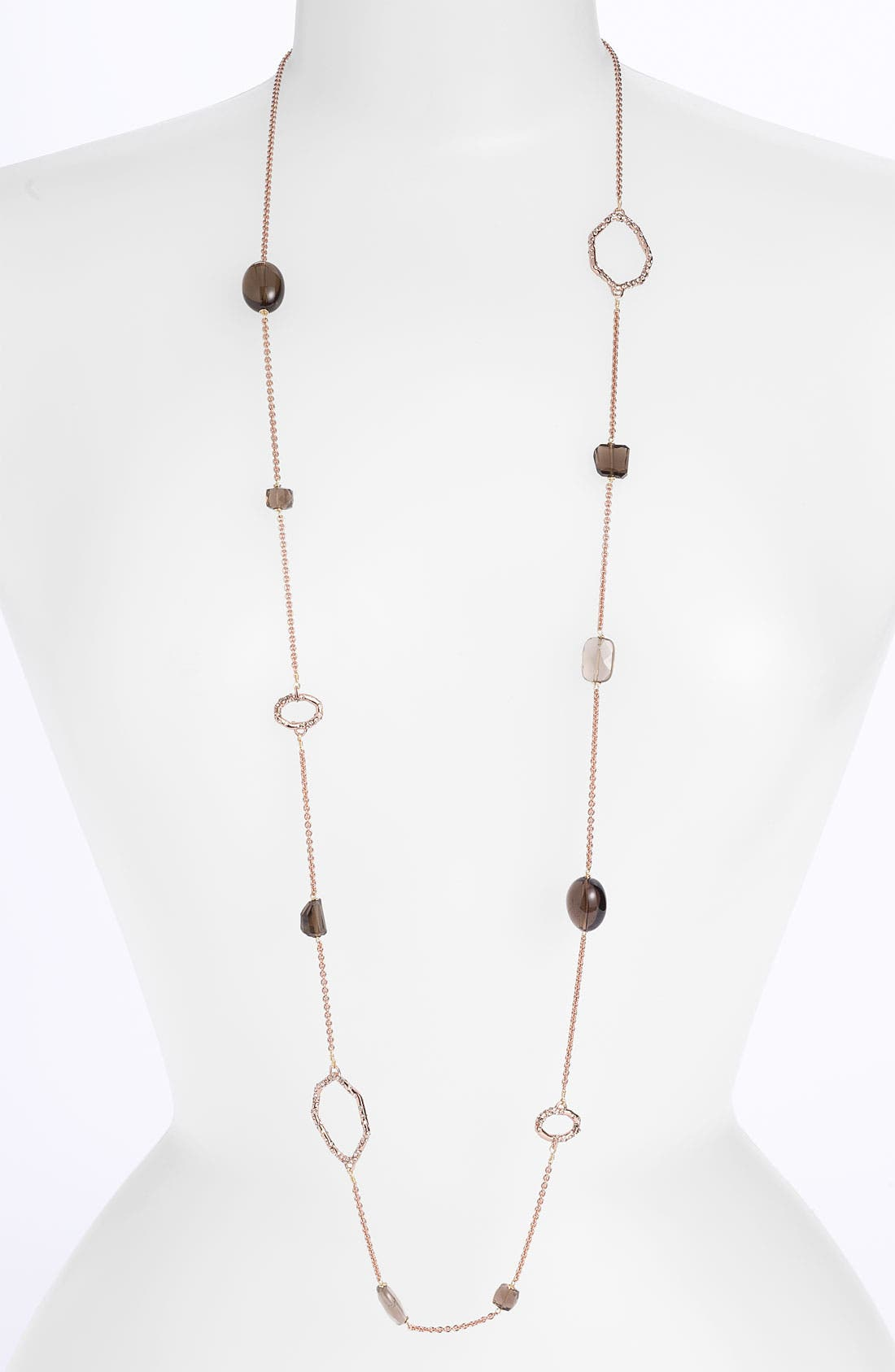 Alternate Image 1 Selected - Alexis Bittar 'Delano' Long Station Necklace (Nordstrom Exclusive)