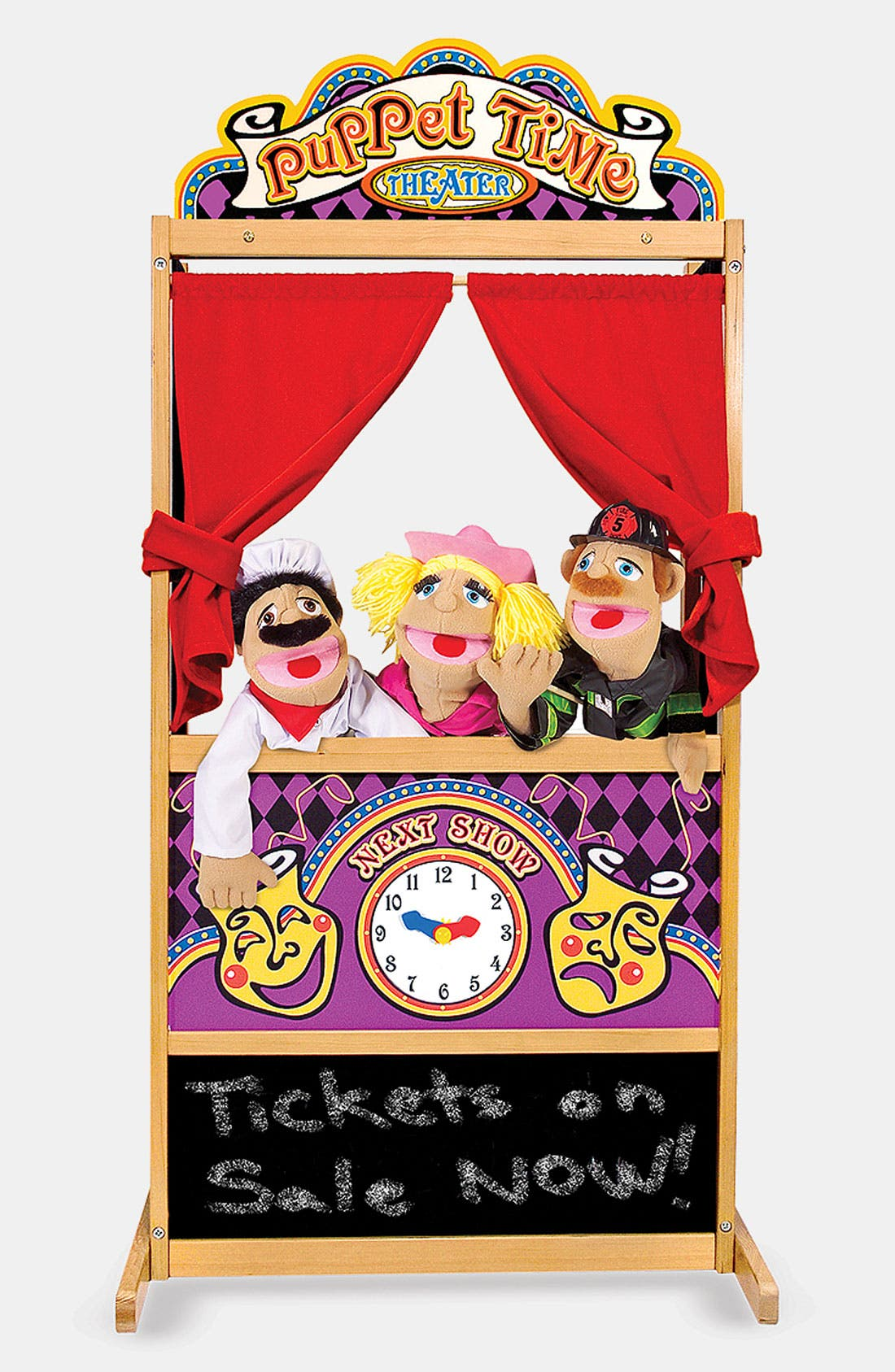 Alternate Image 3  - Melissa & Doug 'Puppet Time' Theater (Online Only)