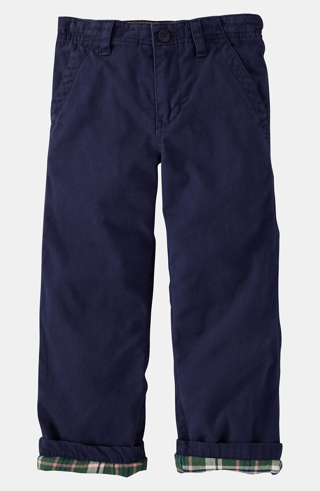 Alternate Image 1 Selected - Mini Boden Lined Chinos (Toddler)