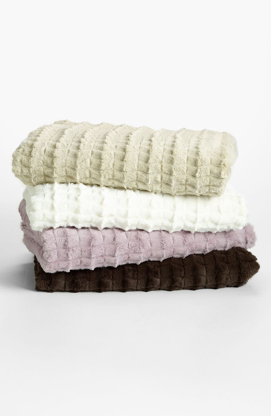 Alternate Image 1 Selected - Nordstrom at Home 'Ladder' Plush Throw