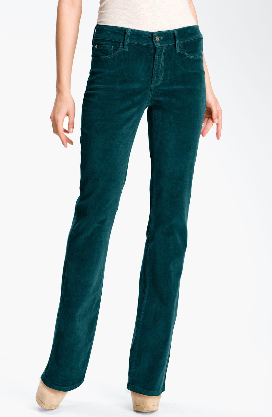 Alternate Image 1 Selected - NYDJ Bootcut Corduroy Jeans