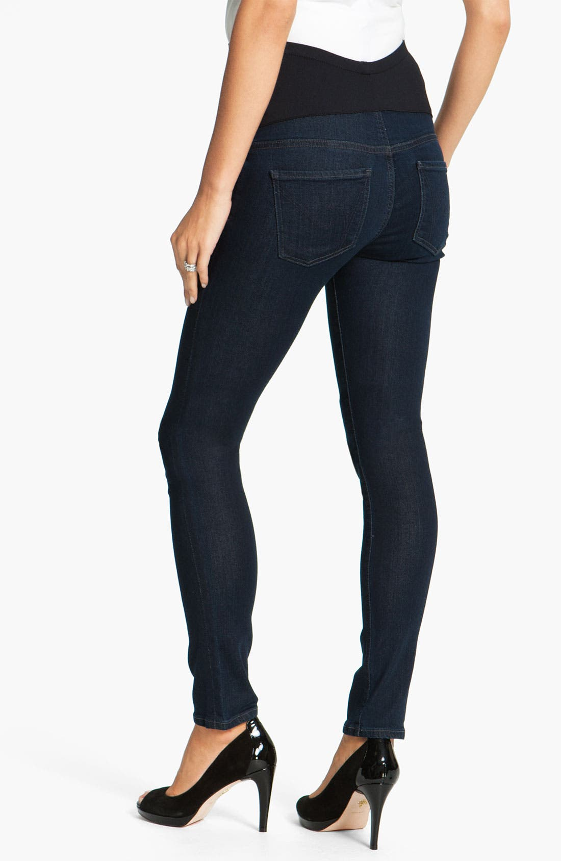 Alternate Image 2  - Citizens of Humanity Maternity Skinny Jeans (Divine)