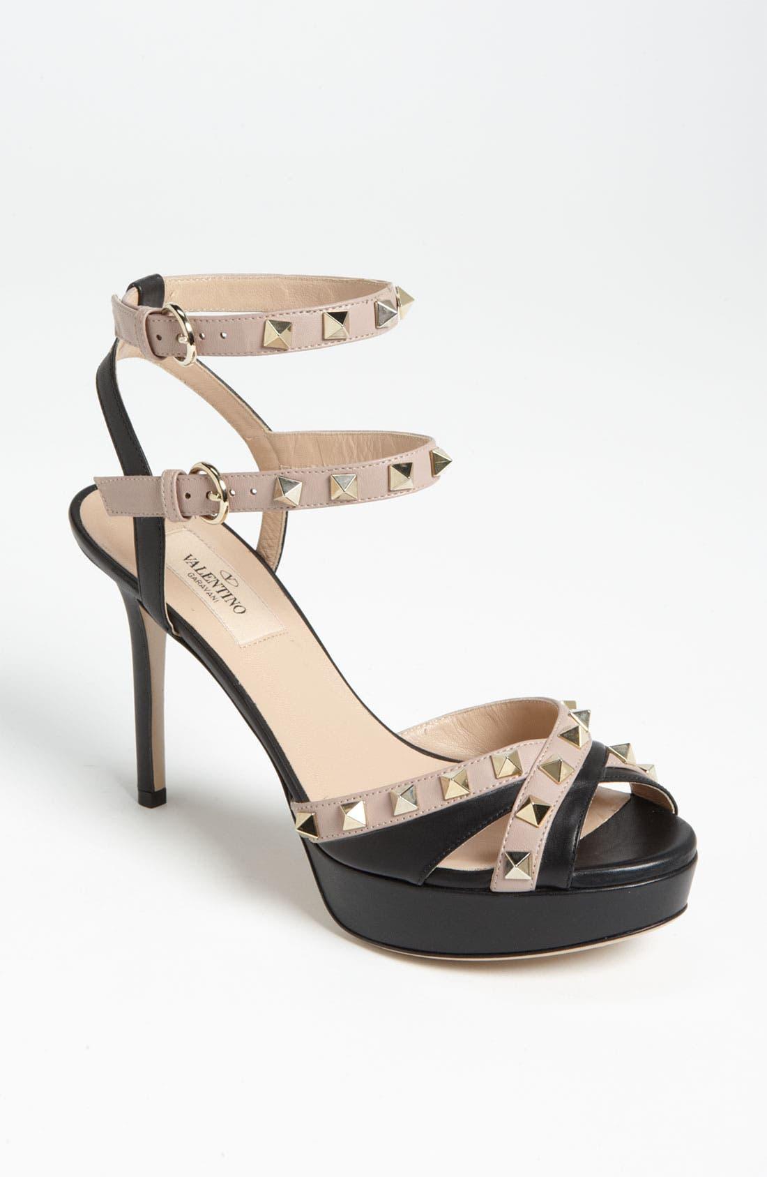 Main Image - VALENTINO GARAVANI 'Rockstud' Sandal